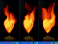 Fire Heart Desktop Gadget 2.20.134 screenshot