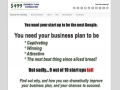 Business Plan Consulting 1.0 screenshot