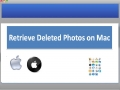 Retrieve Deleted Photos on Mac 1.0.0.25 screenshot