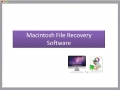 Macintosh File Recovery Software 1.0.0.25 screenshot