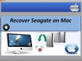 Recover Seagate on Mac 1.0.0.25 screenshot