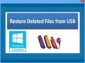 Restore Deleted Files from USB 4.0.0.32 screenshot
