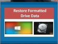 Restore Formatted Drive Data 4.0.0.32 screenshot