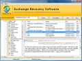 Exchange EDB Database Recovery 7.5 screenshot