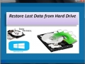 Restore Lost Data from Hard Drive 4.0.0.32 screenshot