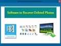 Software to Recover Deleted Photos 4.0.0.32 screenshot