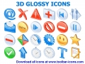 3D Glossy Icons 2015.1 screenshot