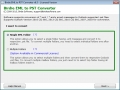 Conversion of EML to Microsoft Outlook 7.0.6 screenshot
