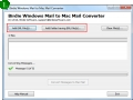 Convert Windows Email to Mac 6.0 screenshot