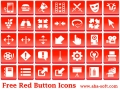 Free Red Button Icons 2013.1 screenshot