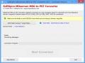 Convert MDaemon MSG to PST 6.1.7 screenshot