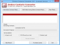 Zimbra Contacts Converter 3.2 screenshot