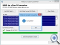 MSG Contacts to VCF Converter 3.6.1 screenshot