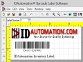 IDAutomation Barcode Label Software 13.5 screenshot