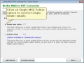 Batch MSG to PST Converter 6.5 screenshot