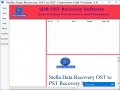 Outlook OST to PST Recovery Tool 3.0 screenshot
