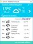 SterJo Weather Forecast 1.0 screenshot