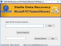 Stella PST Password Recovery 1.0 screenshot