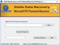 PST Password Recovery Software 1.0 screenshot