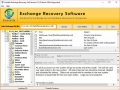 Exchange EDB Database Recovery Software 8.7 screenshot