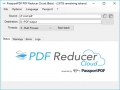 PDF Reducer Cloud 1.0.10.0 screenshot