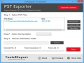 PST File Exporter Tool 1.1 screenshot