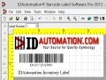 IDAutomation Barcode Label Pro Software 5.13 screenshot