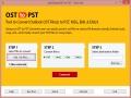 Export OST folder to PST 4.0 screenshot