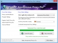 ChrisPC Free Anonymous Proxy 7.65 screenshot