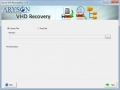 Aryson VHD Recovery 17.0 screenshot