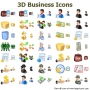 3D Business Icons for Bada 2015.1 screenshot