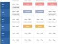 Express Schedule Plus Scheduling Software 3.02 screenshot
