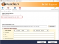 How to Import Outlook MSG File into Outlook PST 10.0 screenshot