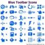 Blue Toolbar Icons for Bada 2013.1 screenshot