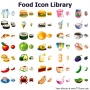 Food Icon Library for Bada 2013.1 screenshot