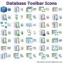 Database Toolbar Icons for Bada 2013.1 screenshot
