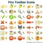 Fire Toolbar Icons for Bada 0.1 screenshot