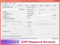 Free ZIP Password Recovery 3.70 screenshot