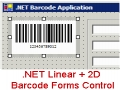 .NET Linear + 2D Barcode Forms Control 13.6 screenshot