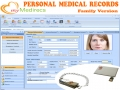 myMedirecs Personal Medical Software 2.6 screenshot