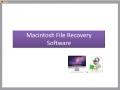 Macintosh File Recovery Software 1.0.0.25 screenshot