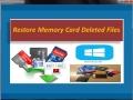 Restore Memory Card Deleted Files 4.0.0.32 screenshot