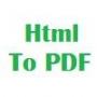 Html To PDF Printer 3.0.2013.612 screenshot
