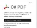 C# PDF 2021.3.1 screenshot