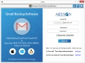 Aryson Gmail Backup Software 20.9 screenshot