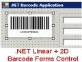 .NET Linear + 2D Barcode Forms Control 13.6 screenshot
