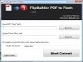 FlipBuilder PDF to Flash 1.0.1 screenshot